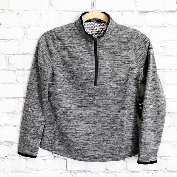 Nike Other - 🆕 Nike Golf Gray Dri-Fit ¾ Front Zip Jacket